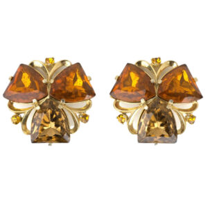 1950s Elsa Schiaparelli earrings