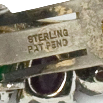 """STERLING"" mark on ear clip"