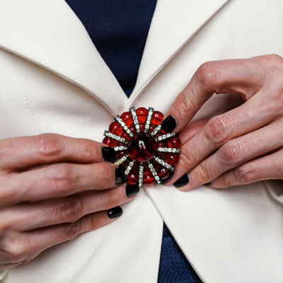 Another way to wear this brooch