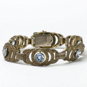 1920s-1930s filigree bracelet by Theodor Fahrner