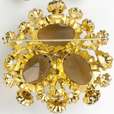 Back of Schreiner brooch