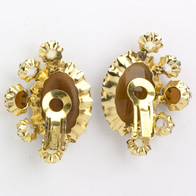 Back of Schreiner earrings