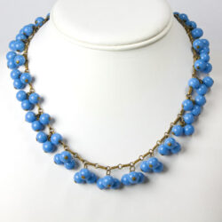 1920s beaded necklace with fringe