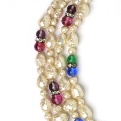 Gemstones in Louis Rousselet necklace