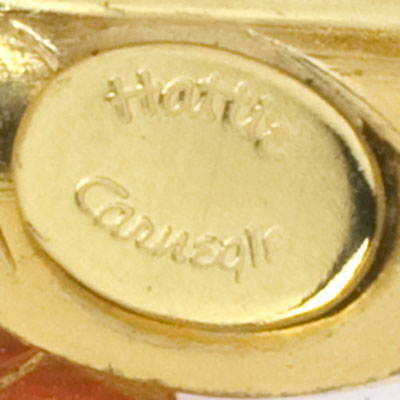 Maker's mark on brooch