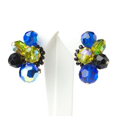 1950s earrings by Hattie Carnegie