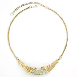 Corocraft gold necklace by Adolph Katz