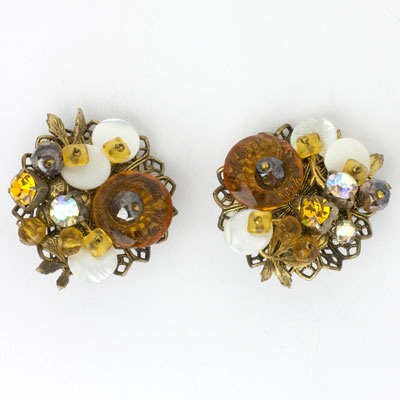 Another view of earrings