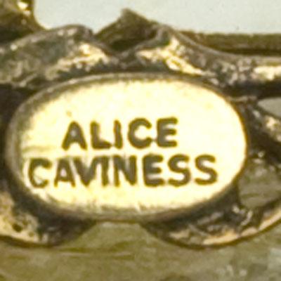 Maker's mark on brooch