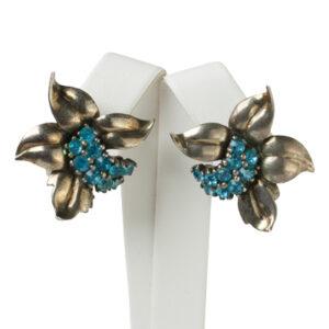 Aquamarine earrings by Pennino Bros.