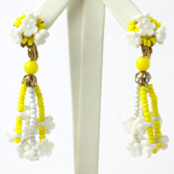 1960s earrings by Miriam Haskell