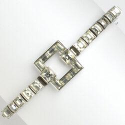 Dorsons sterling bracelet with diamanté