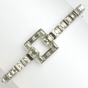 Dorsons sterling bracelet with diamanté