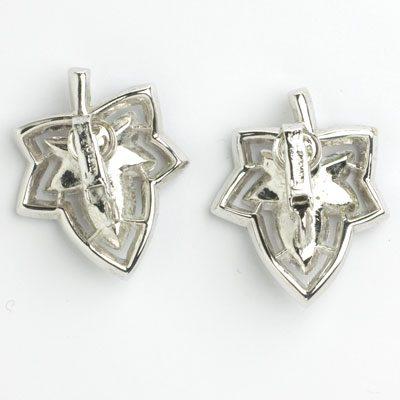 Back of 'Jeweleaf' earrings