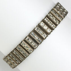 Vintage silver bracelet by Catamore in sterling