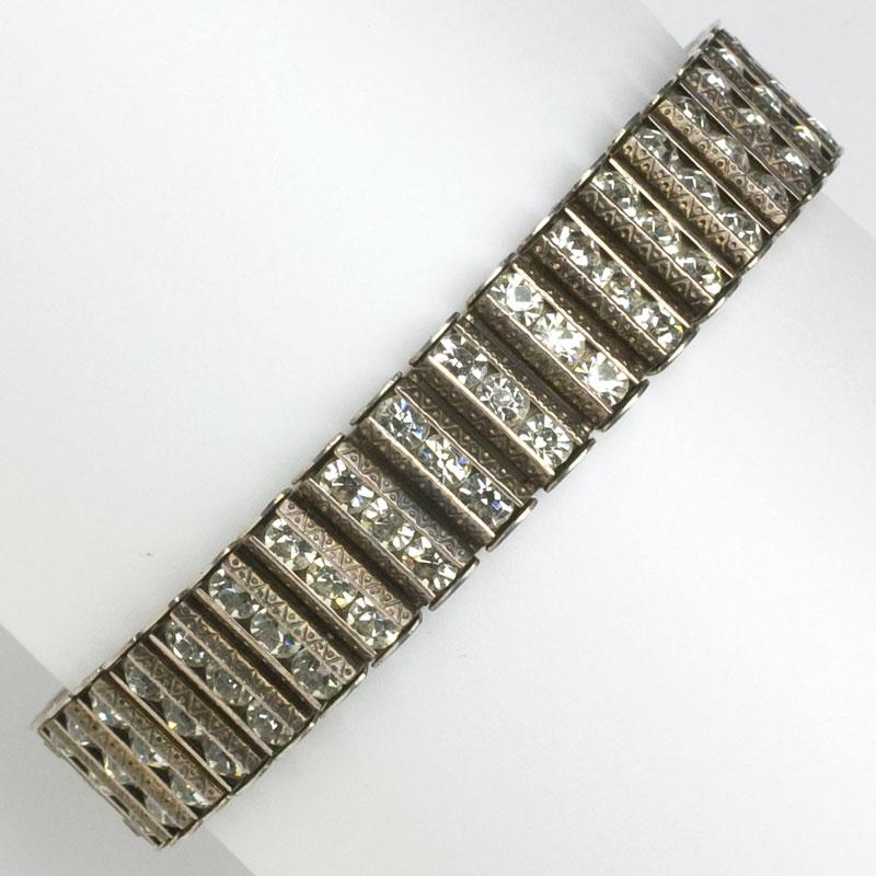 Vintage silver bracelet by Catamore in sterling