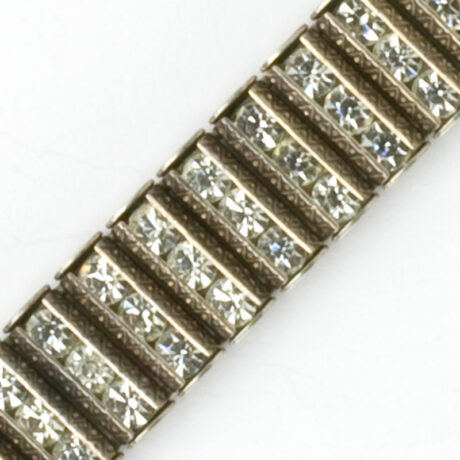 Close-up view of bracelet