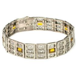 Beautiful Simmons Art Deco bracelet