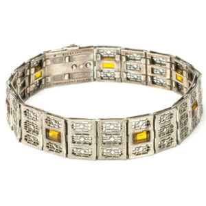 Beautiful Simmons Art Deco bracelet