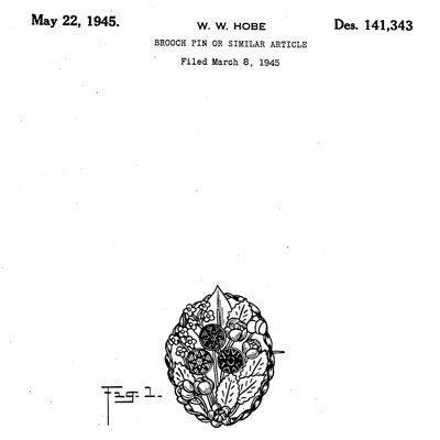 Hobé design patent D141,343