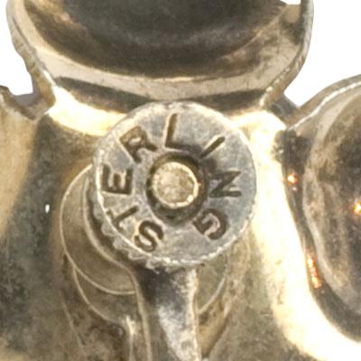 'Sterling' mark on screw fastener