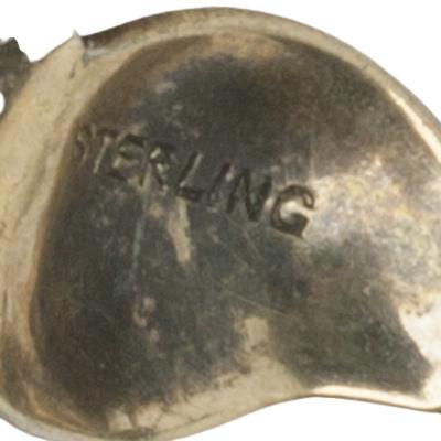'Sterling' mark on petal