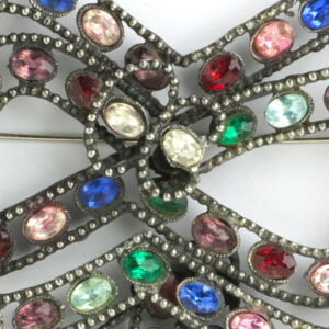 Close-up view of Reinad brooch