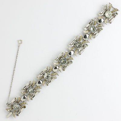Adolph Katz-designed Retro Modern bracelet