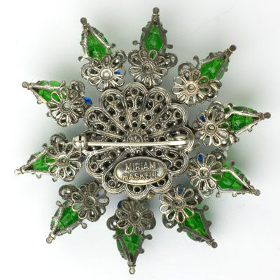Brooch back