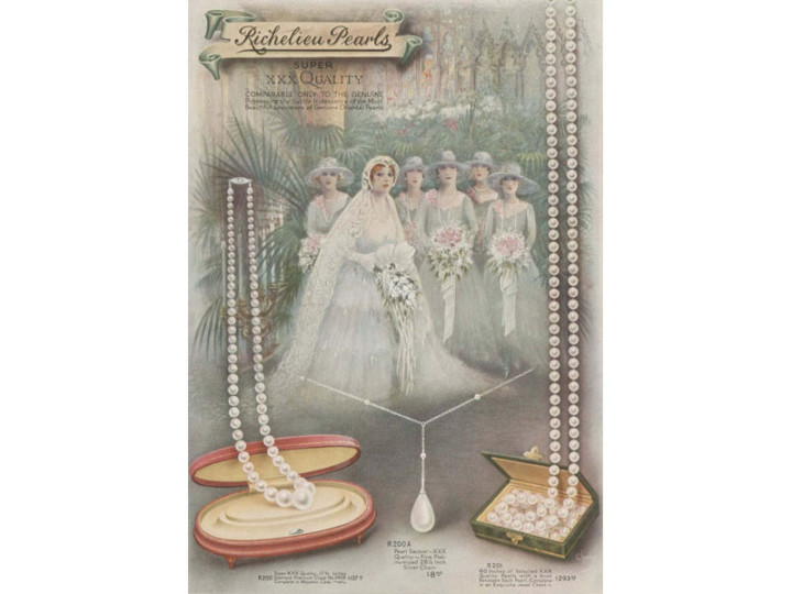 Vintage Bridal Jewelry:  Pearls