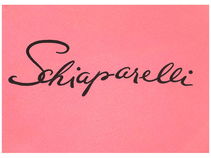 Schiaparelli costume jewelry signature