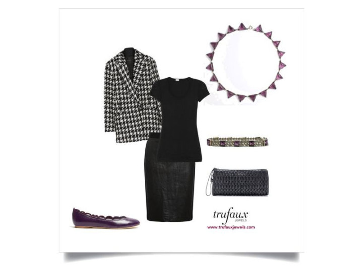 Art Deco Chic: Wearing Amethyst with Today's Trends