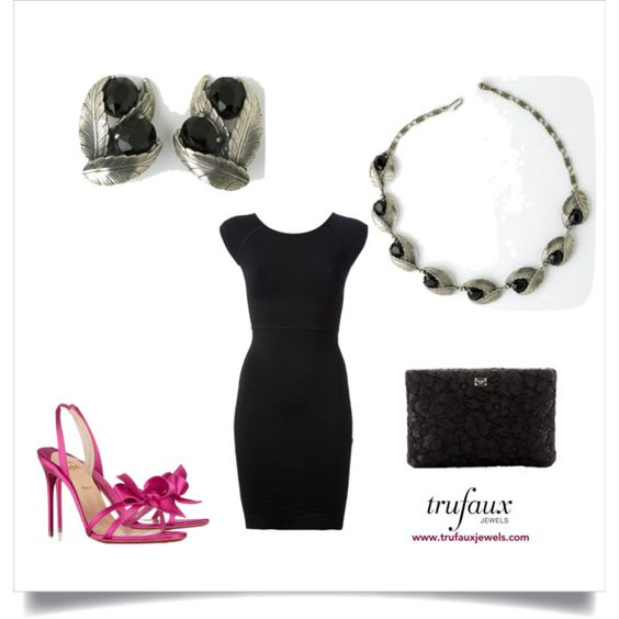 Dress Up Your Little Black Dress With Schiaparelli Jewels