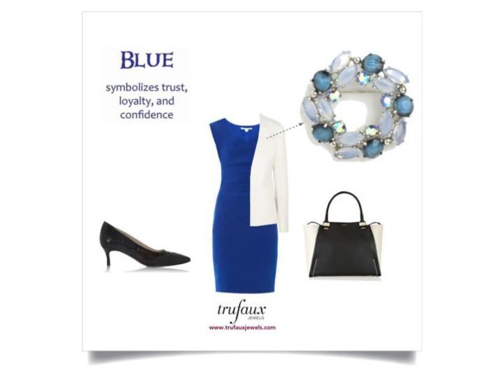 Wearing Blue Hues