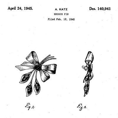 Adolph Katz design patent