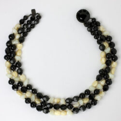 1950s beaded necklace by Hattie Carnegie