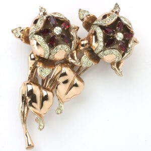 Coro-Craft Duette brooch