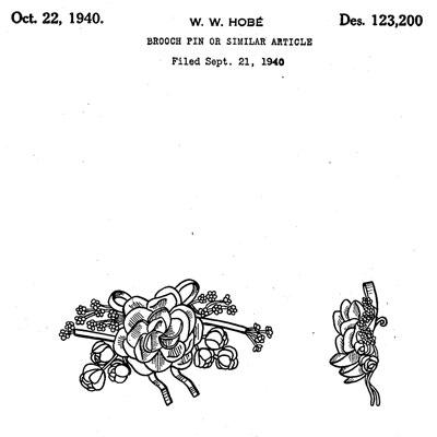 Design patent for similar piece