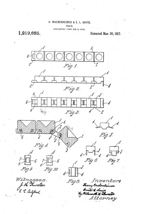 Patent for first Diamonbar bracelet 3 20 17