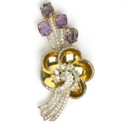 1943 Adolph Katz-designed Corocraft brooch