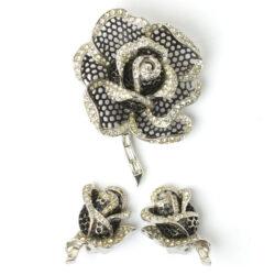 Vintage rose brooch by Marcel Boucher