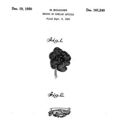 'Rose of Seville' design patent