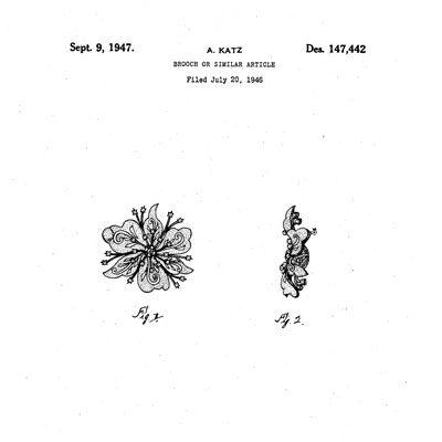 Design patent D147,442