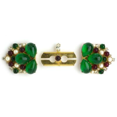 Dress clips & brooch mechanism