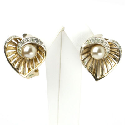 Blossom ear clips