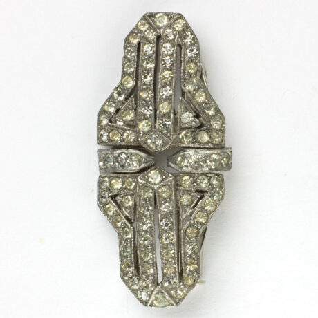 Another view of French brooch