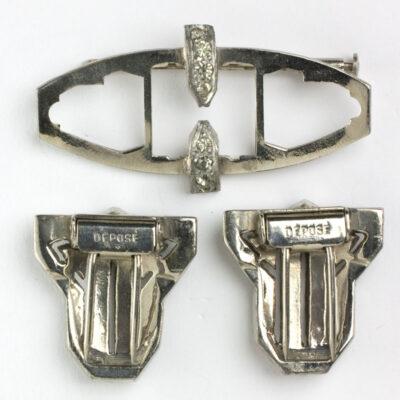 Back of clips off & brooch mechanism