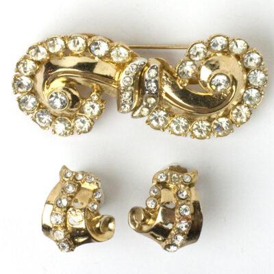 Merry Whirl Duette & Gay Swirl earrings