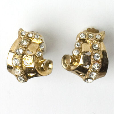 Another view of Coro earrings