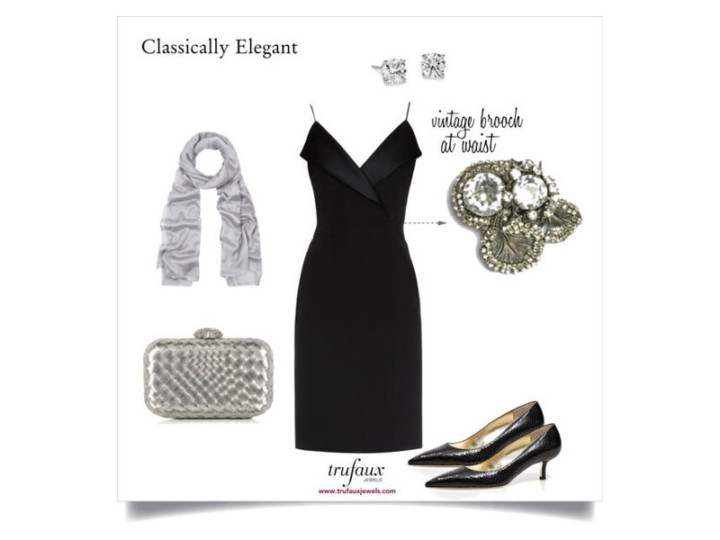 Dress Up Your Little Black Dress with Vintage Jewels